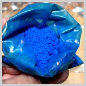 pigmento azul malaquita