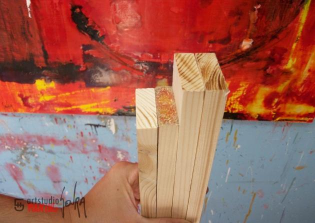 Cómo fabricar un marco para cuadros a 90º | El Blog de Pintura de My ...