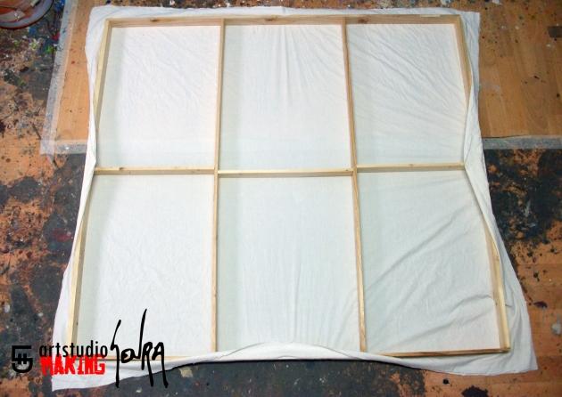 Cómo fabricar tu propio bastidor de tela | El Blog de Pintura de My ...