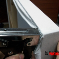 Cómo fabricar tu propio bastidor de tela