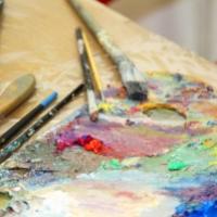 Los instrumentos de la pintura