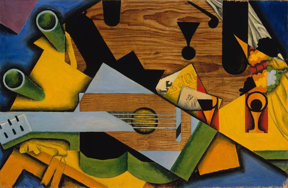 Juan gris el padre del cubismo el blog de pintura de my - Donde estudiar pintura ...