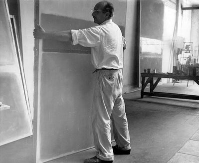 Mark Rothko en su estudio