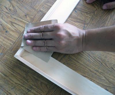 lijar marco de madera cuadro