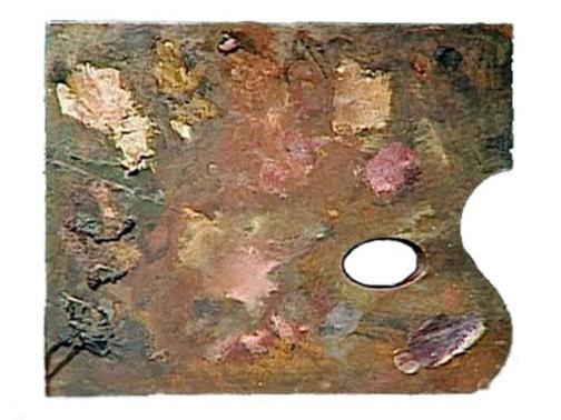 Paleta de Edgar Degas