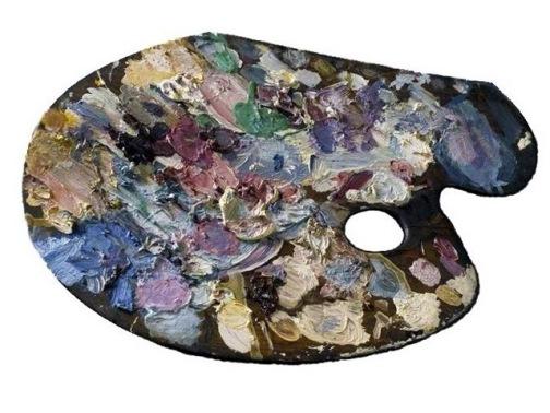 Paleta de Gustave Moreau