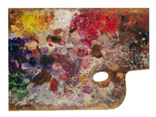 Paleta de Vassili Kandinsky