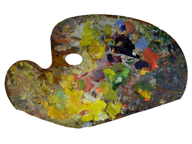 Paletas de pintores famosos el blog de pintura de my for Paleta colores pintura