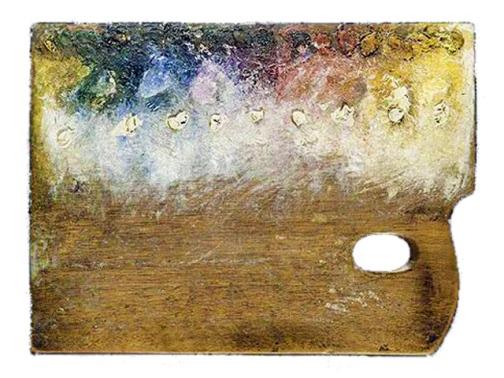 Paleta de Georges Pierre Seurat