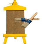 Como imprimar una tabla de madera